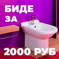 Биде за 2000 рублей