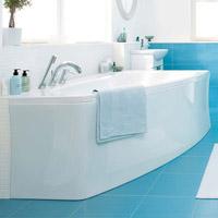 Асимметричные ванны (угловые ванны)