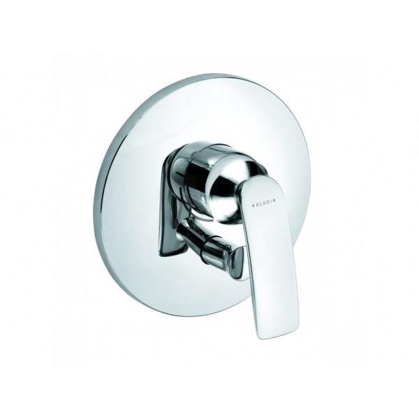KLUDI Balance 526500575 (к 88011) хром Смеситель для ванны однорычажный встраиваемый (внешняя часть + функциональный элемент)