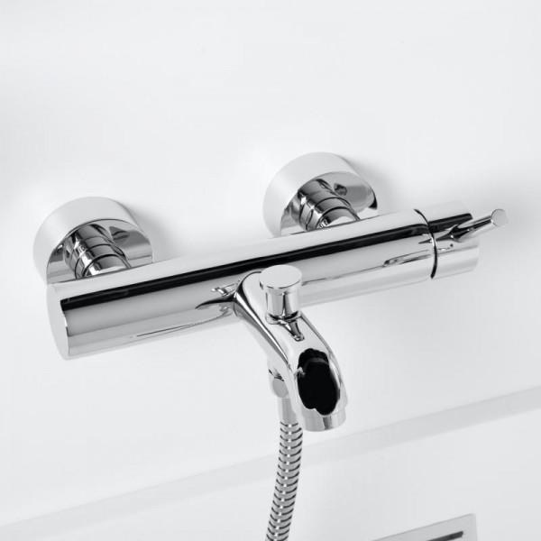"""Steinberg Серия 100 Смеситель однорычажный для ванны/душа 1/2"""" с керамическим картриджом, с переключателем, с защитой от обратного потока, хром 100 1100"""