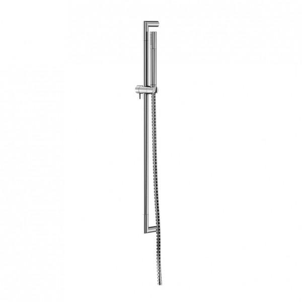 Steinberg Серия 100 Душевой гарнитур со штангой 750мм, c ручным душем, с металлическим шлангом 1800мм, хром 100 1605