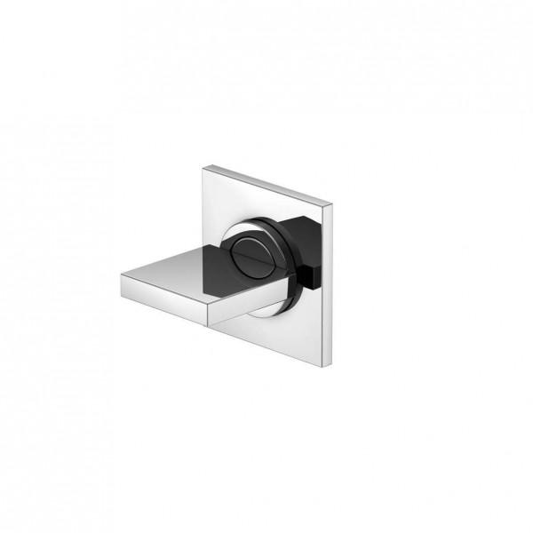 """Steinberg Серия 160 Запорный вентиль 1/2"""" для горячей воды с 90 ° керамическим вентилем, в комплекте со скрытым корпусом, c уплотнительной манжетой Kerdi, хром (обратите внимание на монтажную глубину) 160 4510"""
