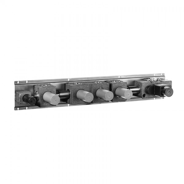 Fantini Встраиваемая часть термостата с тройным  зап. вентилем (шланговое присоединение с зап. вентилем) 19 00 D214A