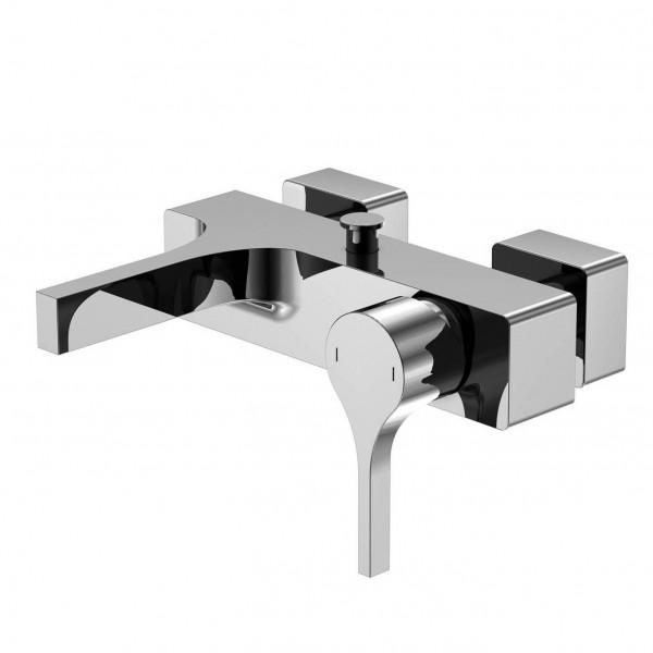 """Steinberg Серия 210 Смеситель однорычажный для ванны/душа 1/2"""" с керамическим картриджем, с переключателем, с защитой от обратного потока, хром 210 1100"""