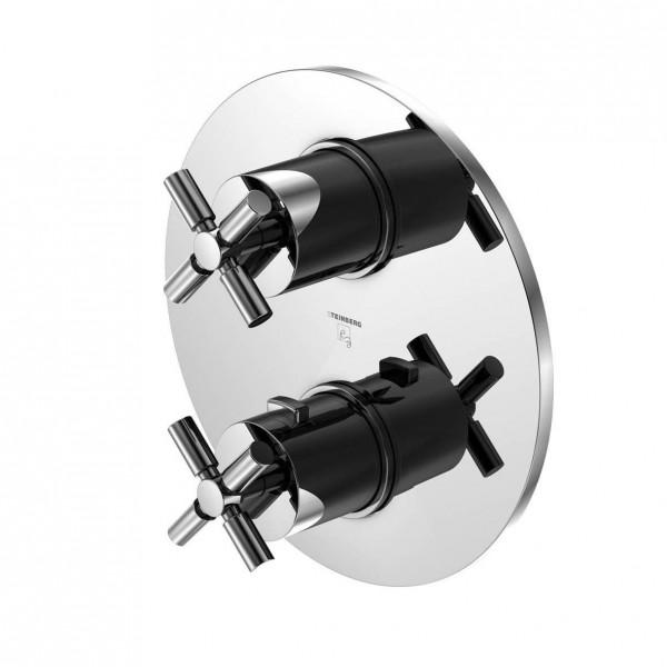 Steinberg Серия 250 Наружная часть к встраиваемому термостату, хром (cкрытый корпус 010 4110 заказывать отдельно) 250 4103