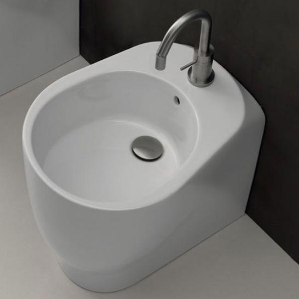Биде AXA Normal приставное 52 см белое матовое 2602012