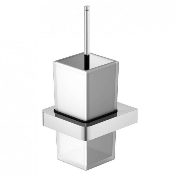 Steinberg Серия 420 Ершик, белое сатин. стекло, хром 420 2901