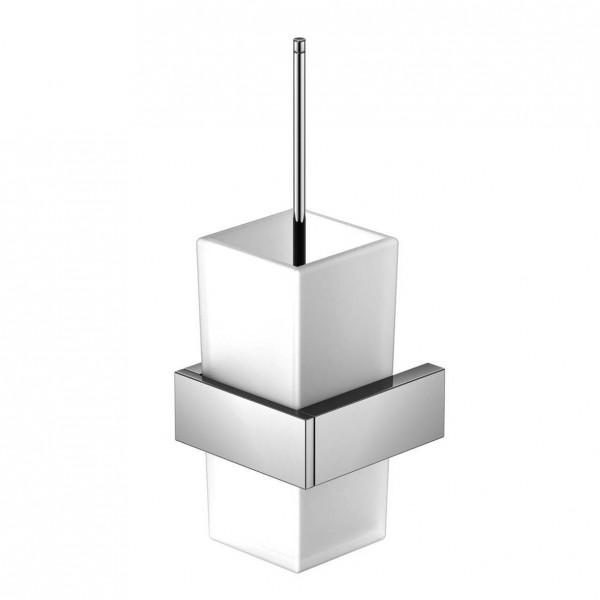 Steinberg Серия 460 Ершик, белое сатин. стекло, хром 460 2903