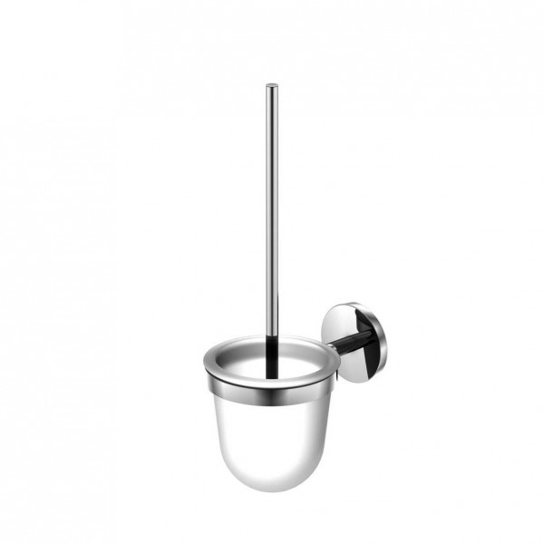 Steinberg Серия 650 Туалетный набор, сатин. стекло, из латуни, хром 650 2911