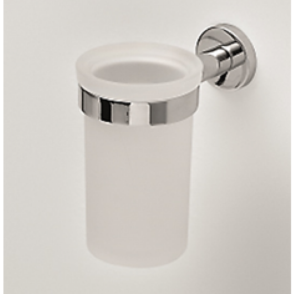Novello HOST настенный стакан для зубных щеток хром