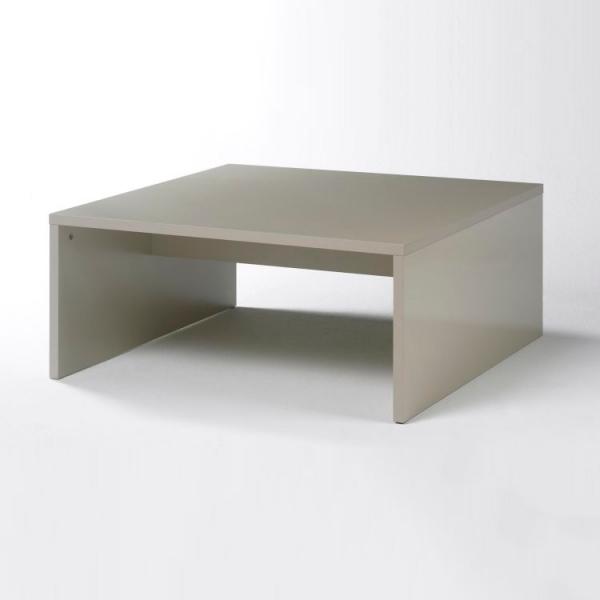Журнальный столик STURM Puzzle 810x810x360, цвет бежевый глянцевый FPUZ8103