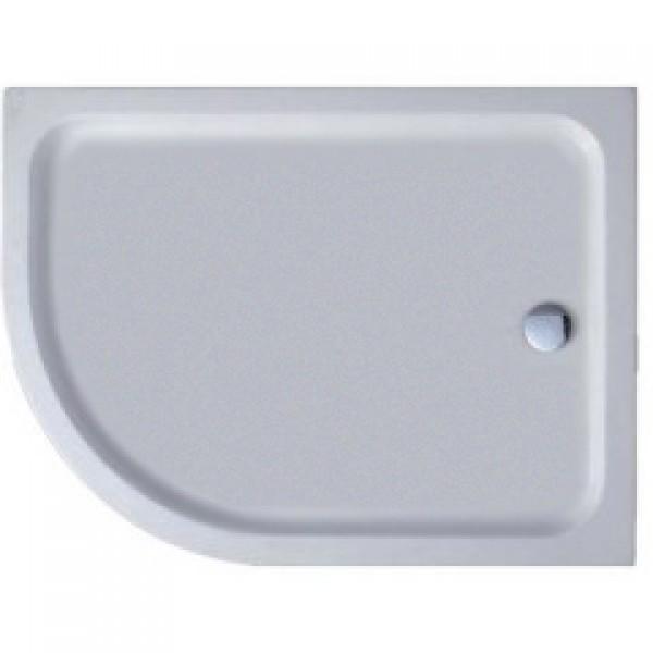 Душевой поддон STURM DW Jump Right 1200х900х50 асимметричный закругленный, белый DW-JUMP120905-RWT