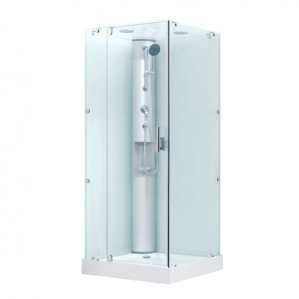 Душевая кабина STURM Play 1000x1000 квадратная с распашными дверями DK-PLAY1010-KFCR