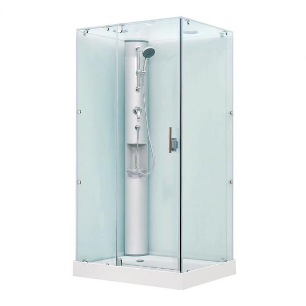 Душевая кабина STURM Play 1000x800 прямоугольная с распашными дверьми DK-PLAY1008-KFCR