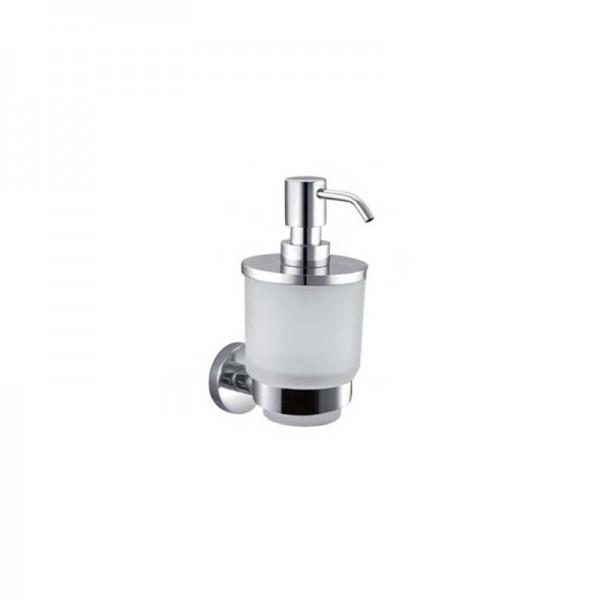 Дозатор для жидкого мыла STURM Round, навесной, хром, LUX-RND310-CR