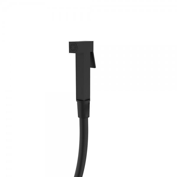 Комплект гигиенического душа STURM Winkel ручной душ и шланг 1,20 м чёрный матовый LUX-WINKEL1-BM