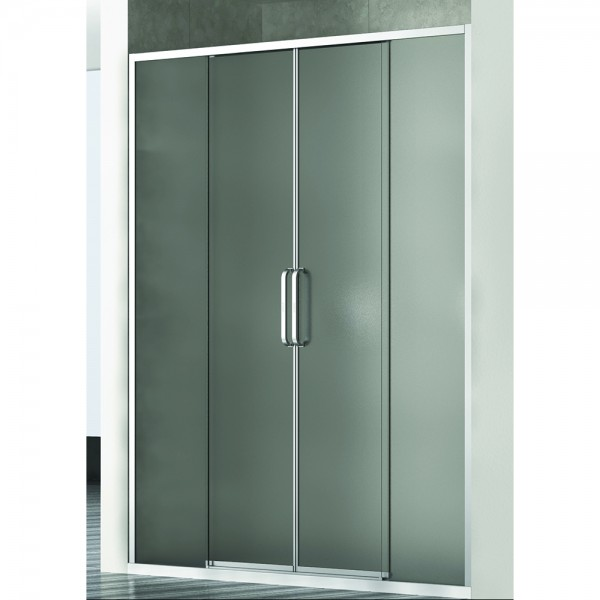 Душевая дверь в нишу STURM PDP-line New Generation 160х200 см раздвижная, прозрачное стекло. Argento Lucido NGP9IR15730TR