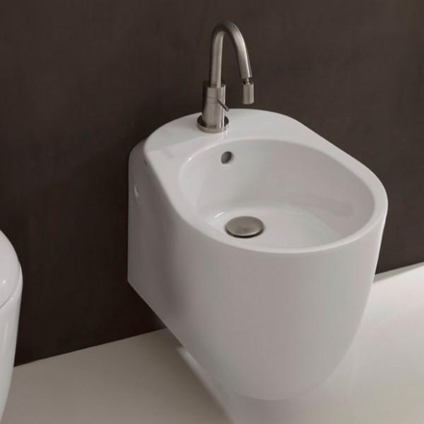 Биде подвесное AXA Normal 52 см, белое матовое 2702012