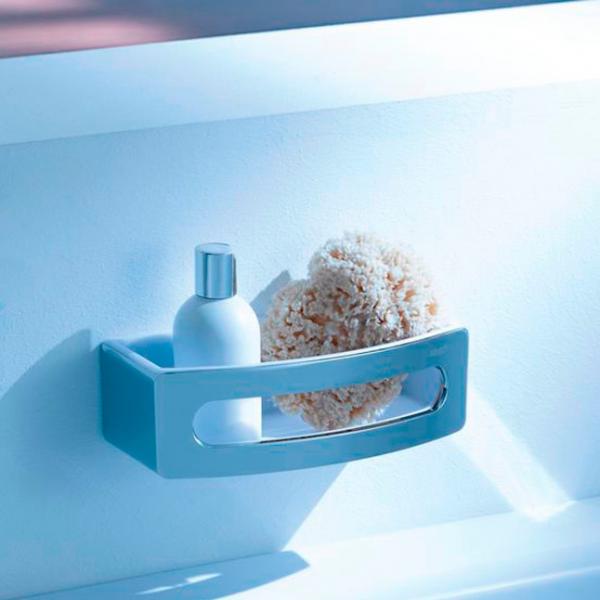 Полка STURM AC для ванной 240х105х70, хром/белый ST-AC1658-CR