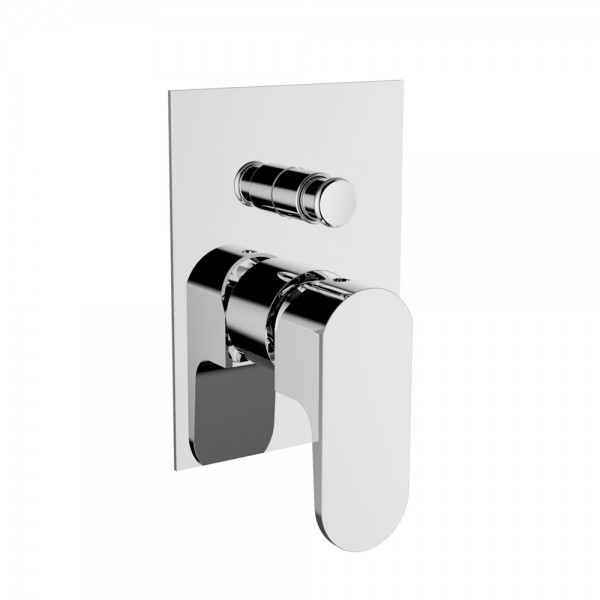 Смеситель для ванны/душа STURM Air встраиваемый с переключателем, хром ST-AIR-14090-CR