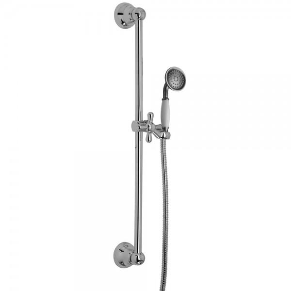 Душевой набор STURM Classica: штанга, лейка, мелаллический шланг 150 см, хром ST-CLA-35060-CR
