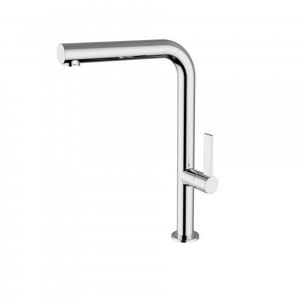 Смеситель STURM Zona di Gusto на 1 отв. поворотный излив с вытяжным душем (высота 318 мм L=226 мм) для кухонной мойки, хром ST-GUS-7820-CR