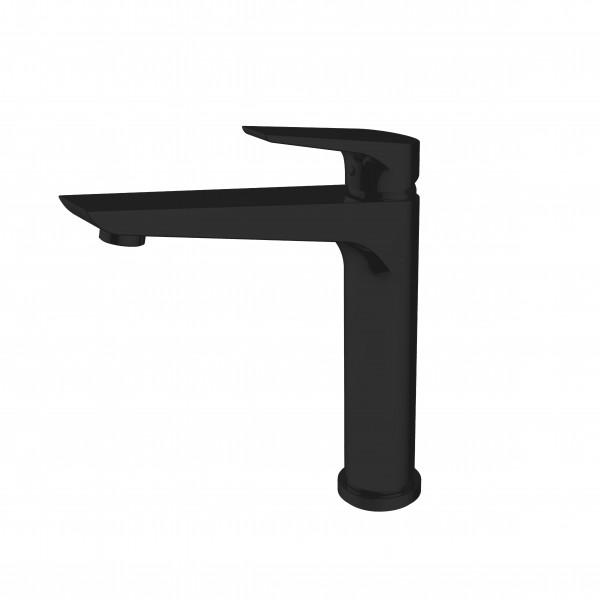 Смеситель STURM Zona di Gusto на 1 отв. с поворотным изливом (высота 207 мм L=173 мм) для кухонной мойки, чёрный матовый ST-GUS-7828-BM