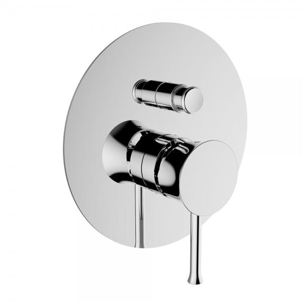Смеситель для ванны/душа STURM Krum встраиваемый с переключателем, хром ST-KRU-54090-CR