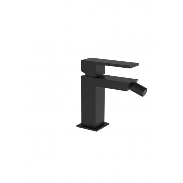 Смеситель для биде STURM Platz Black на 1 отверстие с донным клапаном click-clack, чёрный матовый ST-PLA-80401-BM