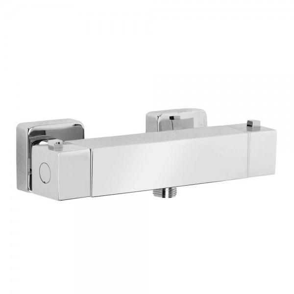 Термостатический смеситель STURM Thermo для душа, квадратный, хром ST-THE-159061-CR