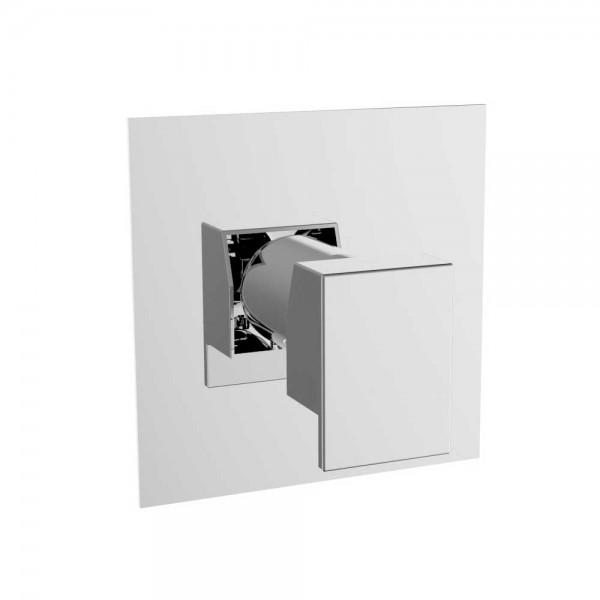 Встраиваемый дивертор STURM Thermo до 5 потребителей, квадратный, хром ST-THE-159081-CR