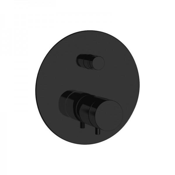 Термостат STURM Thermo Round встраиваемый на 2 потребителя (в комплекте встраиваемая часть), чёрный матовый ST-THERM2061-BM