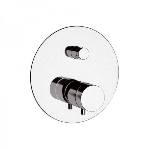 Термостат STURM Thermo Round встраиваемый на 2 потребителя (в комплекте встраиваемая часть), хром ST-THERM2061-CR