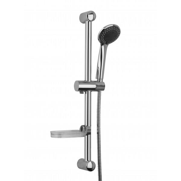 Душевой гарнитур STURM Universal Basic на штанге 650 мм (в компл. ручной душ 3 режима, шланг 1,5 м, мыльница), хром ST-UN5291-CR