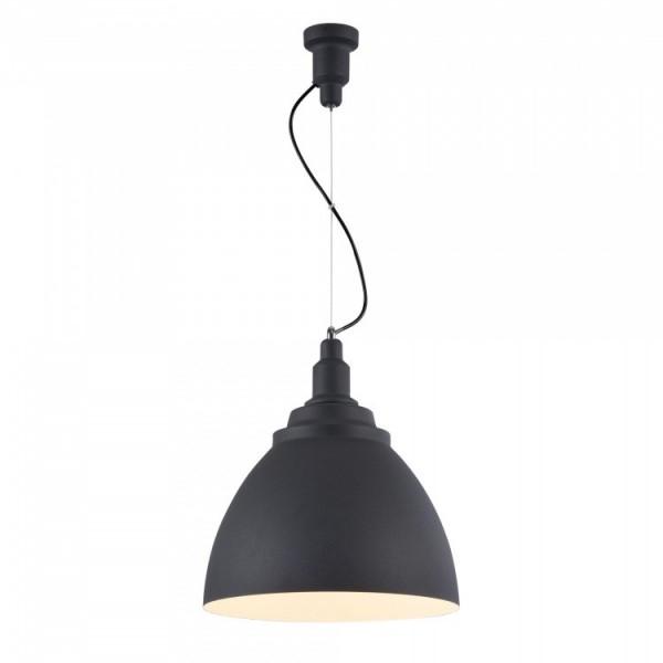 Светильник подвесной STURM Oslo, D350H400/2012 (1*E27 60W), черный, STL-OSL022733