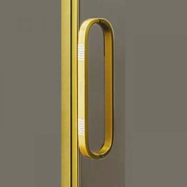 Ручки STURM Swarovski для ограждений (1 шт). Золото LUX-SWAROVSKI-GL