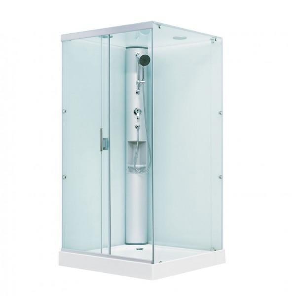 Душевая кабина STURM Wind 1100x1100 квадратная с раздвижными дверями DK-WIND1111-TFCR