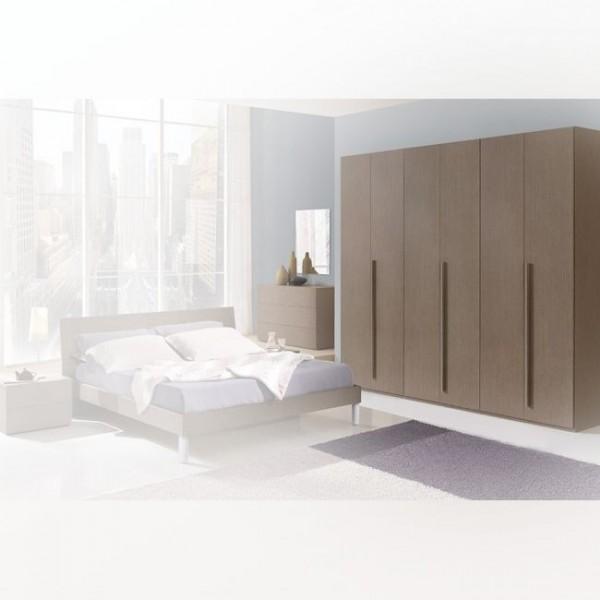 Шкаф платяной трех дверный STURM Step 2580x550x2400, цвет серая лиственница VSTE25809