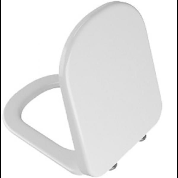Сиденье для унитаза Vitra D-Light с микролифтом, белое/хром 104-003-009