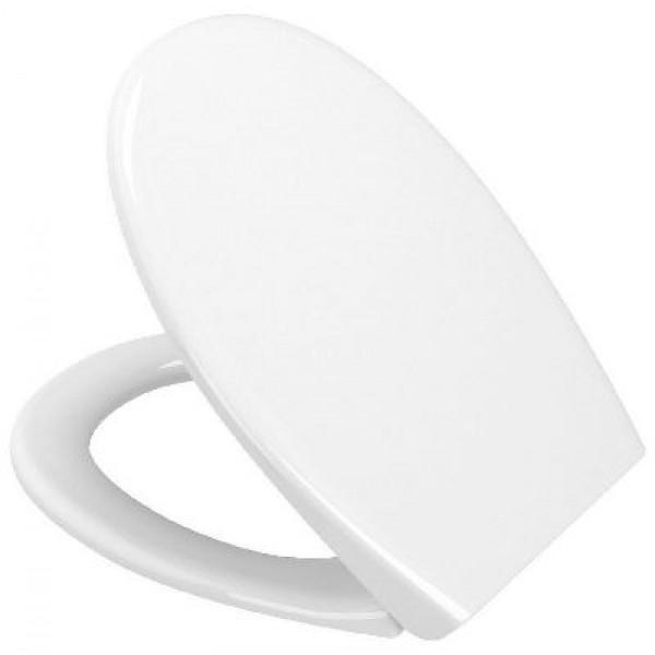 Сиденье для унитаза Vitra Arkitekt/S20 с микролифтом, белое/хром 84-003-019
