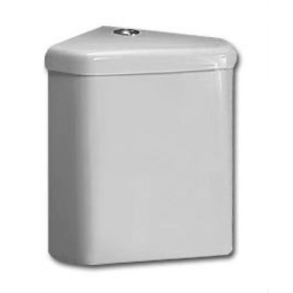 Бачок для унитаза угловой Vitra Arkitekt/Normus с механизмом смыва, белый/хром 4232B003-5388