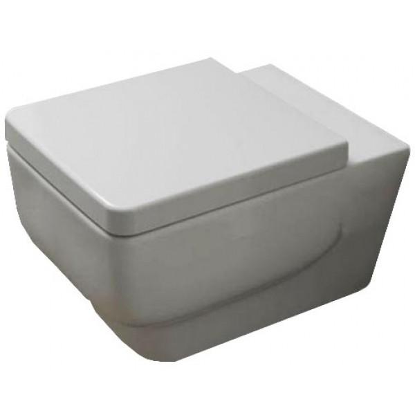 Унитаз подвесной Disegno Ceramica Touch2, белый 6025