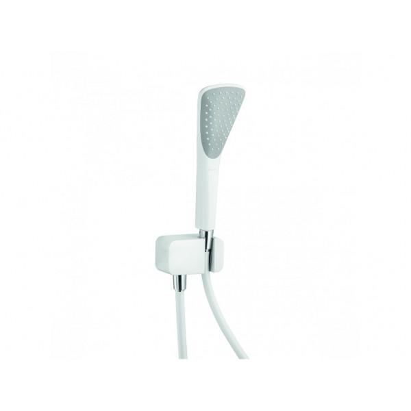 Душевой гарнитур для ванны Kludi Fizz 1S , белый/хром 67 670 91-00