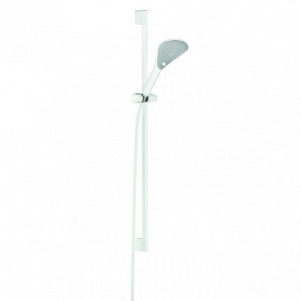 Душевой гарнитур Kludi Fizz 3S 900 мм, белый/хром 67 740 91-00
