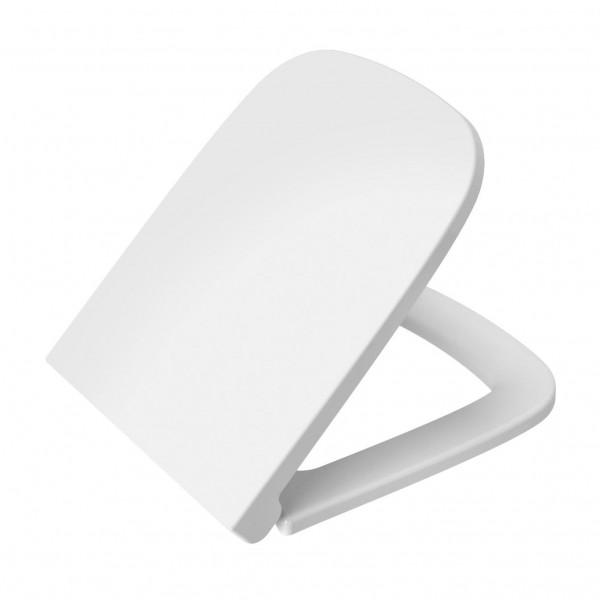 Сиденье для унитаза VitrA S20 с микролифтом, белое/хром 77-003-009