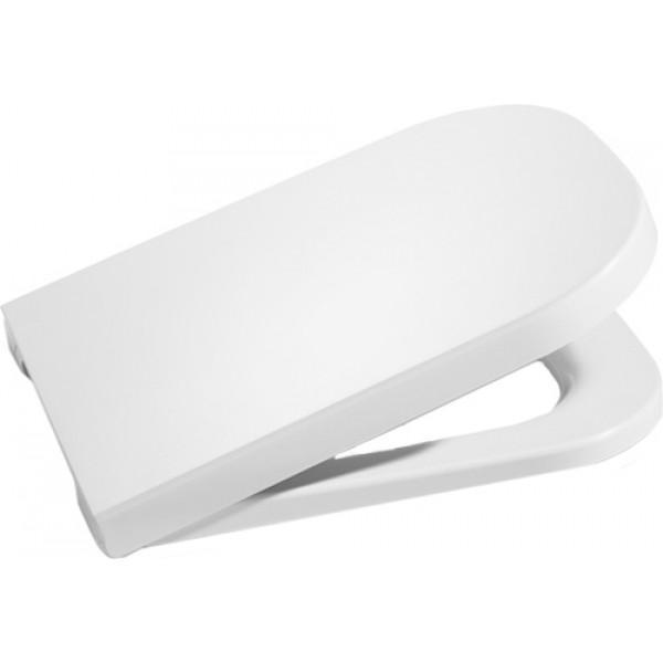 Сиденье для унитаза Roca The Gap с микролифтом, белое/хром 801472004