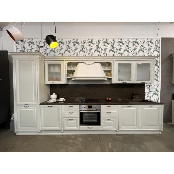 Комплект кухонной мебели с островом Lube Pantheon, цвет белый, 904591
