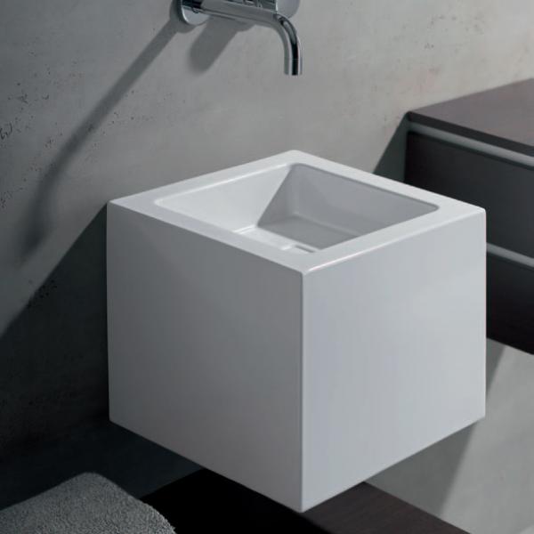 Раковина подвесная Alape Washstand 33x35xh30 см, белая 4271 000 000 (WT.QS325X)