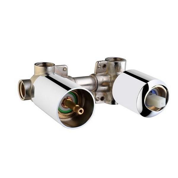 Встраиваемая часть смесителя Vitra Pure с дивертером на 3 потребителя A40685EXP