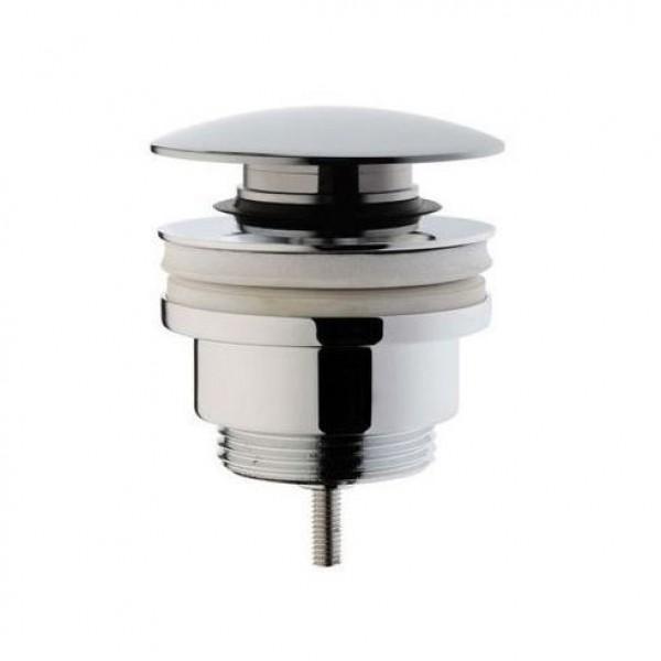 Донный клапан VitrA для раковины с переливом click-clack, хром A45149EXP